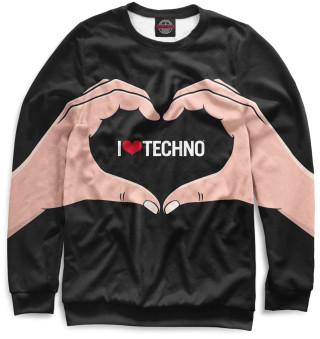 Одежда с принтом Techno (904477)