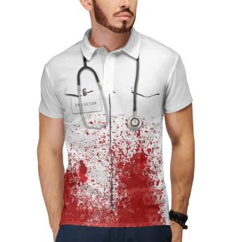 Поло мужское bloody doctor