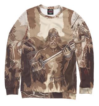 Одежда с принтом Русь (831816)