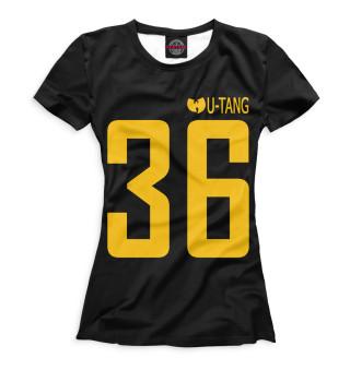 Футболка женская Wu-Tang Clan