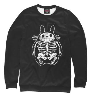 Одежда с принтом Totoro Bones