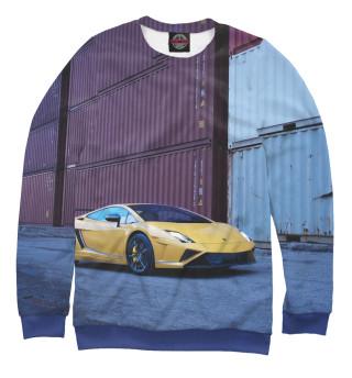 Одежда с принтом Lamborghini (218303)