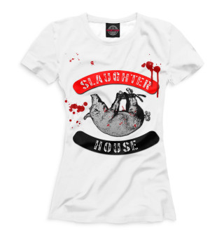 Футболка женская Slaughterhouse (9423)