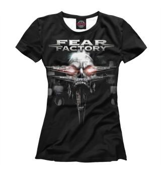 Футболка женская Fear Factory (7561)