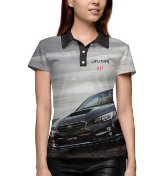Поло женское Subaru Levorg