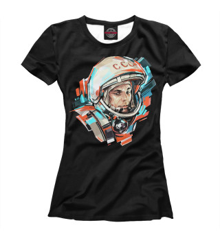 Футболка женская Гагарин (9970)
