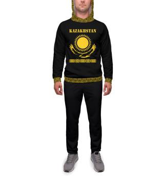 Спортивный костюм  мужской Казахстан (7664)