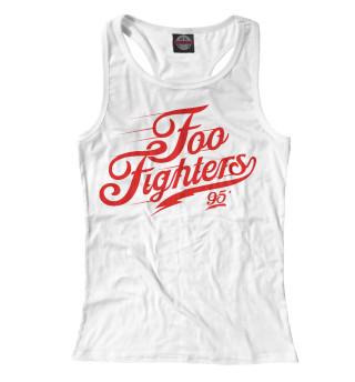 Майка борцовка женская Foo Fighters (2635)