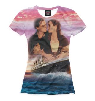 Футболка женская Титаник (6433)