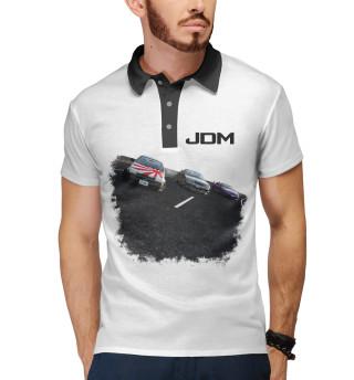 Поло мужское JDM