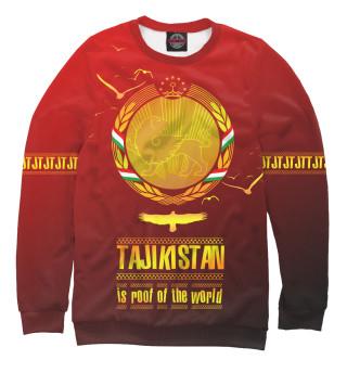 Свитшот, Футболка, Худи, Бомбер, Шорты, Поло, Штаны, Спортивный костюм, Пляжная сумка  Таджикистан крыша мира