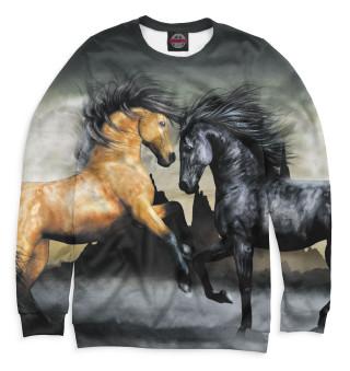 Свитшот  мужской Лошади (7334)