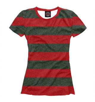 Футболка женская Freddy Krueger Uniform