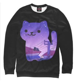 Одежда с принтом Cats