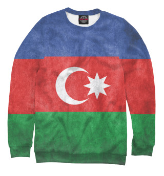 Одежда с принтом Флаг Азербайджана