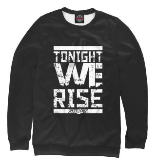 Одежда с принтом Tonight we rise