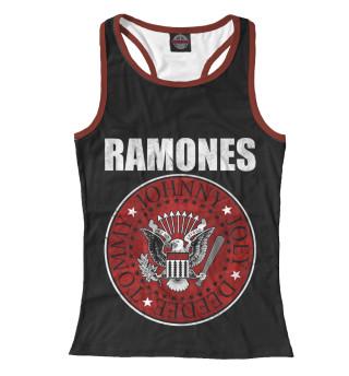 Майка борцовка женская Ramones (7319)