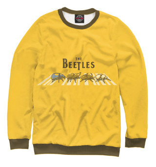Одежда с принтом The bEEtles