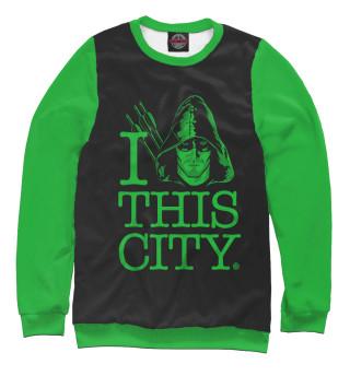 Одежда с принтом I this city