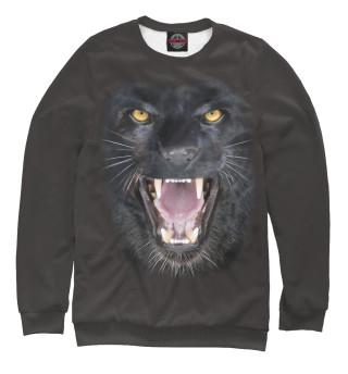 Одежда с принтом Оскал пантеры