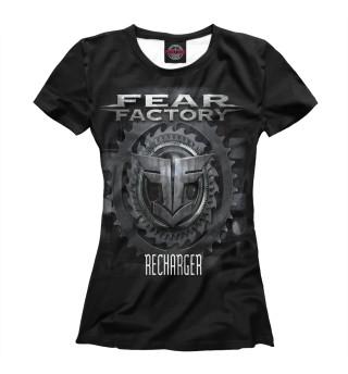 Футболка женская Fear Factory (7607)