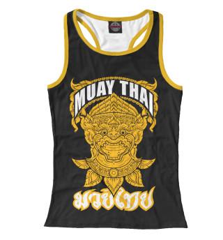 Майка борцовка женская Muay Thai Fighter