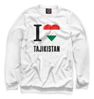 Одежда с принтом I love Tajikistan