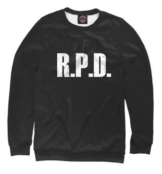 Одежда с принтом Resident Evil R.P.D.