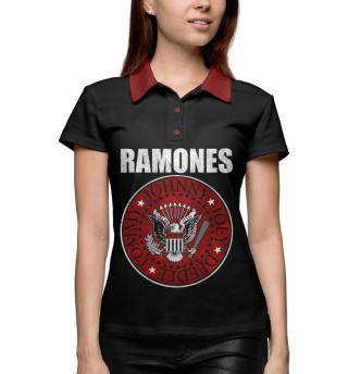 Поло женское Ramones