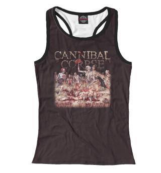 Майка борцовка женская Cannibal Corpse (8535)