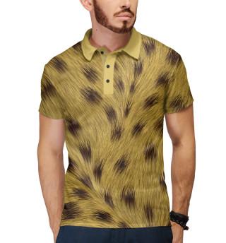 Поло мужское Леопард