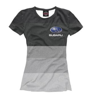 Футболка женская Subaru (6679)