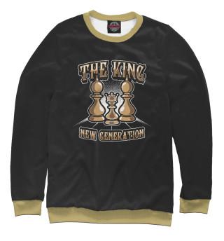 Одежда с принтом The King (163682)