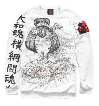 Одежда с принтом Japan Samurai