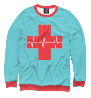 Одежда с принтом Red Cross