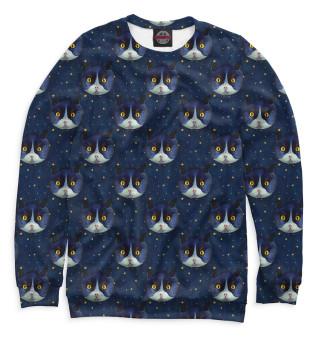 Одежда с принтом Коты