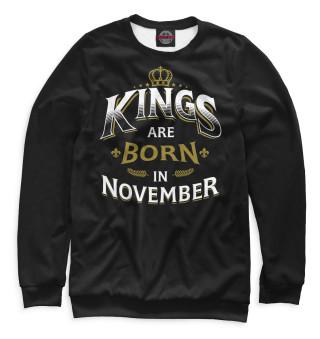 Одежда с принтом Короли рождаются в ноябре