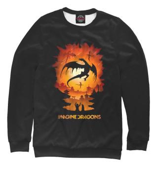 Одежда с принтом Imagine Dragons (762655)