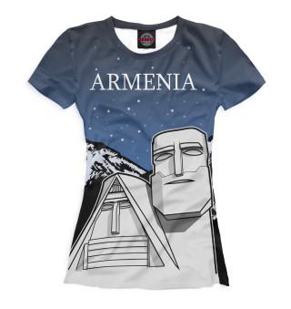 Футболка женская Армения (7125)