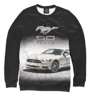 Одежда с принтом Mustang 50 years