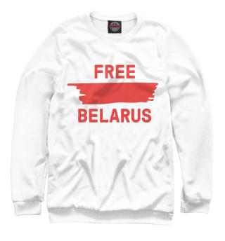 Одежда с принтом Free Belarus (535666)