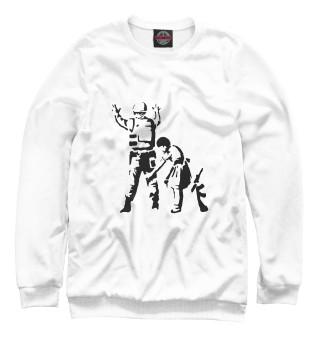 Одежда с принтом Banksy (745219)