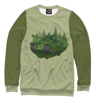 Одежда с принтом Танк (964969)