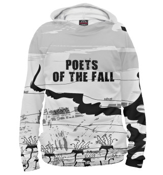 Худи женское Poets of the fall (9470)