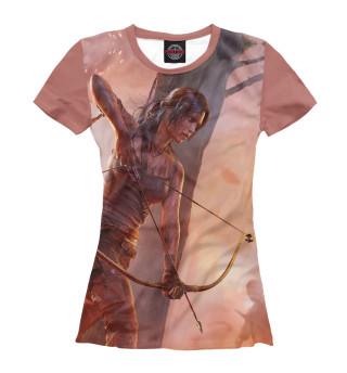 Футболка женская Tomb Raider