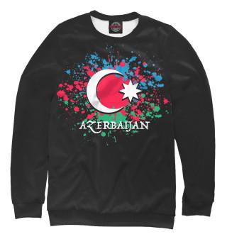 Одежда с принтом Azerbaijan