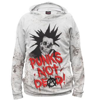 Худи женское Punks not Dead!