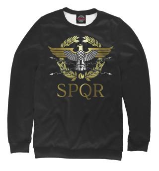 Одежда с принтом SPQR