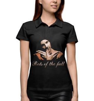 Поло женское Poets of the Fall (5898)