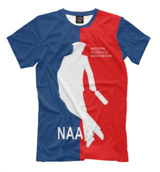 Футболка мужская NAA